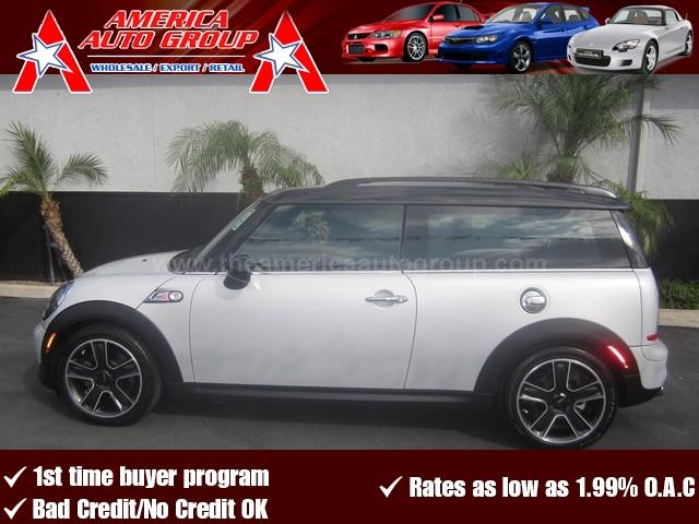 2011 MINI COOPER CLUBMAN S white lowest price on the market perfect color combination white on