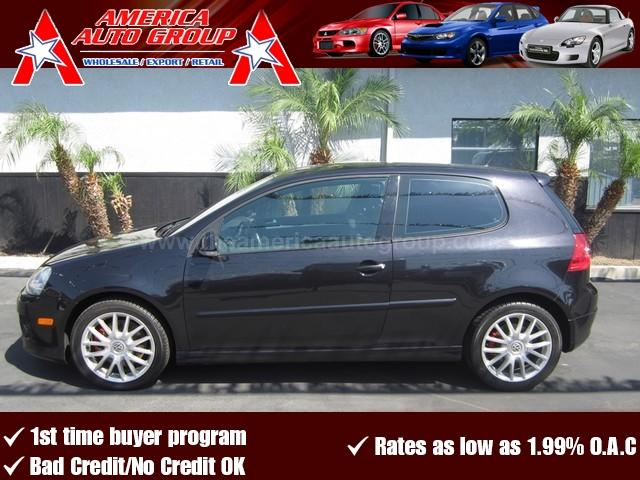 2007 VOLKSWAGEN GTI black this is by far one of the fastest 4 cylinders out there fully equippe