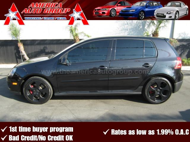 2009 VOLKSWAGEN GTI 20T HATCHBACK SEDAN 4D black abs 4-wheel air conditioning amfm stereo c