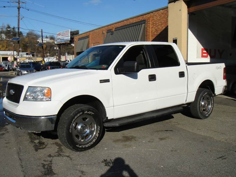 2006 ford f 150 xlt 4dr supercrew 4wd styleside 5 5 ft sb in hasbrouck heights nj frank auto. Black Bedroom Furniture Sets. Home Design Ideas