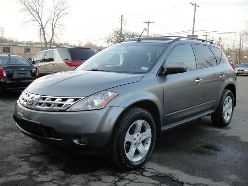 2005 nissan murano sl awd 4dr suv in hasbrouck heights nj frank auto sales. Black Bedroom Furniture Sets. Home Design Ideas