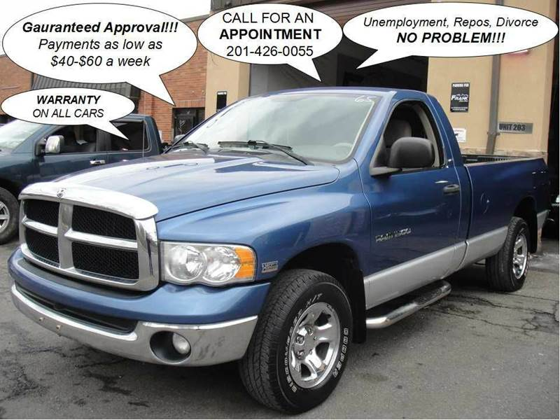 2003 dodge ram pickup 1500 st 2dr regular cab 4wd sb in hasbrouck heights nj frank auto sales. Black Bedroom Furniture Sets. Home Design Ideas