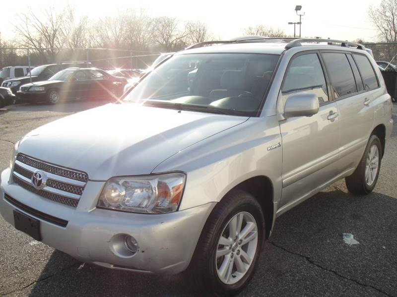 2007 toyota highlander hybrid limited awd 4dr suv w 3rd row in hasbrouck heights nj frank auto. Black Bedroom Furniture Sets. Home Design Ideas