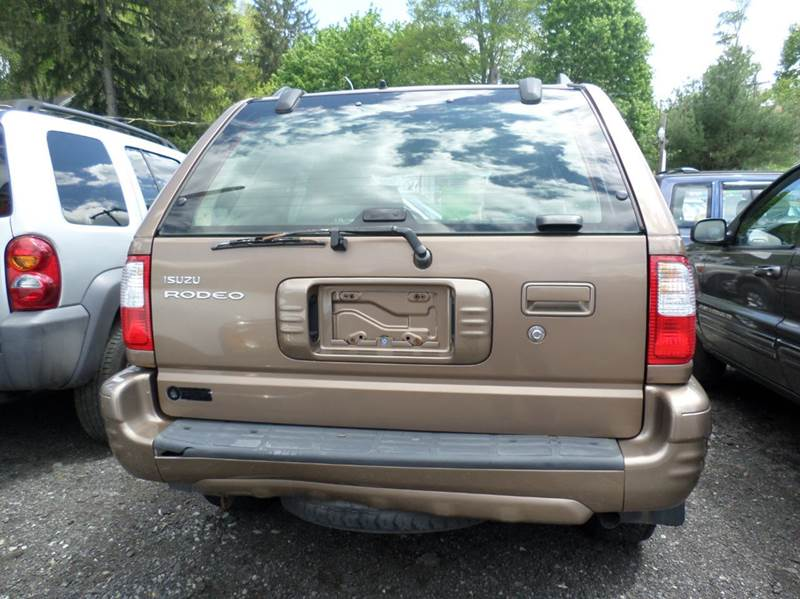2002 isuzu rodeo ls 4wd 4dr suv in nicholson pa fernwood. Black Bedroom Furniture Sets. Home Design Ideas