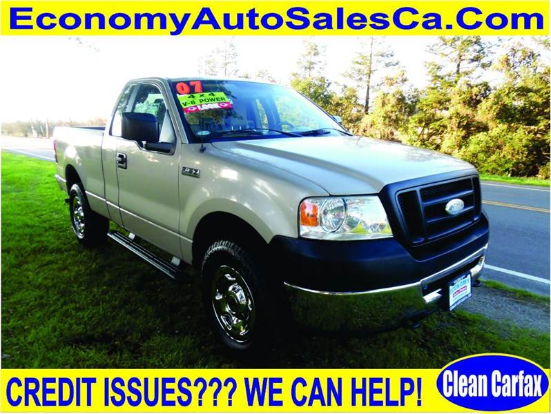 2007 ford f 150 stx 2dr regular cab 4wd styleside 6 5 ft sb in riverbank ca economy auto sale. Black Bedroom Furniture Sets. Home Design Ideas