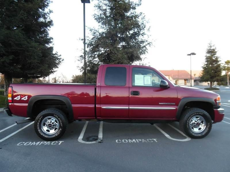 2005 gmc sierra 2500hd slt 4dr extended cab 4wd sb in riverbank ca economy auto sale. Black Bedroom Furniture Sets. Home Design Ideas