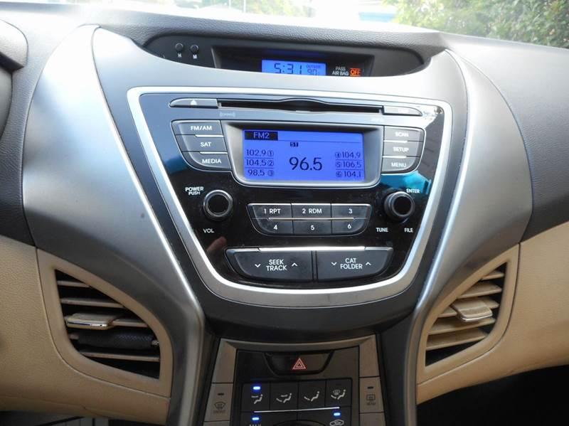 2013 Hyundai Elantra GLS 4dr Sedan - Houston TX