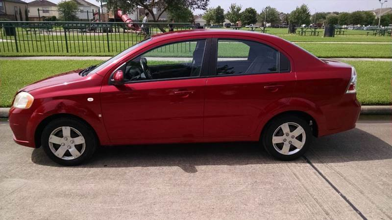 2008 Chevrolet Aveo LS 4dr Sedan In Houston TX  Discount Auto