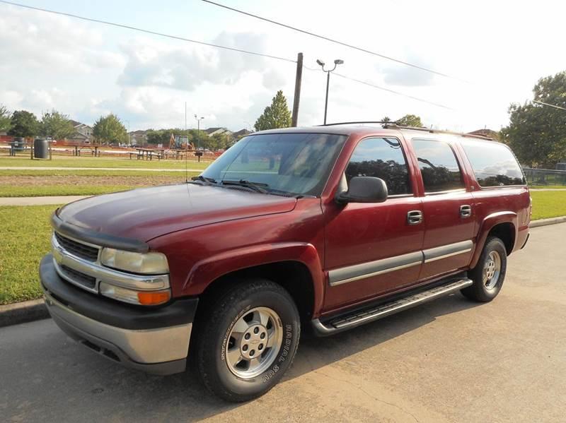 2002 Chevrolet Suburban 1500 LS 2WD 4dr SUV - Houston TX