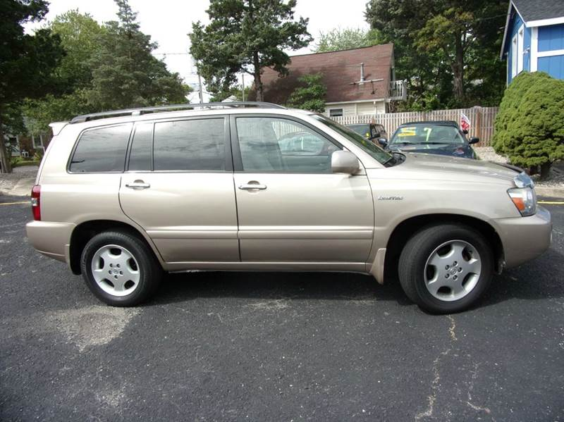 2006 Toyota Highlander Limited Awd 4dr Suv W 3rd Row In Toms River Nj Jrm Auto Brokers