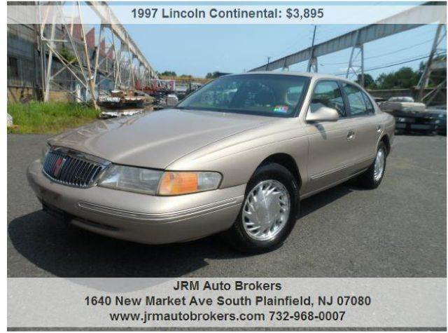 1997 Lincoln Continental for sale in South Plainfield NJ