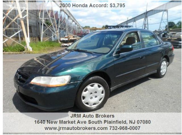 2000 Honda Accord for sale in South Plainfield NJ
