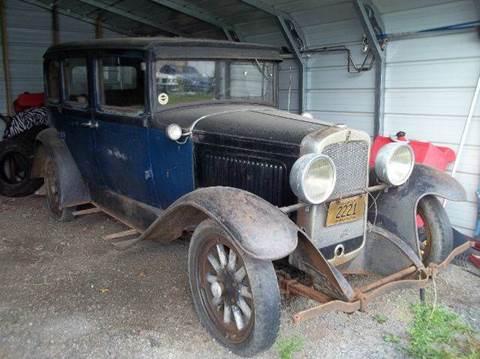 1929 Hudson 4 DOOR