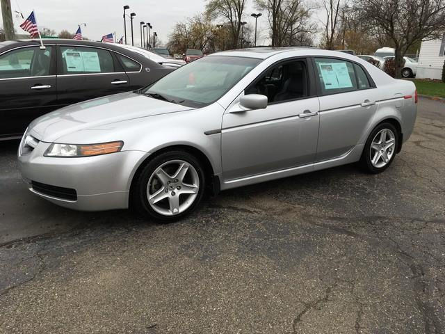 2006 ACURA TL NAVI silver leather moon roof touchscreen power options heated seats call now
