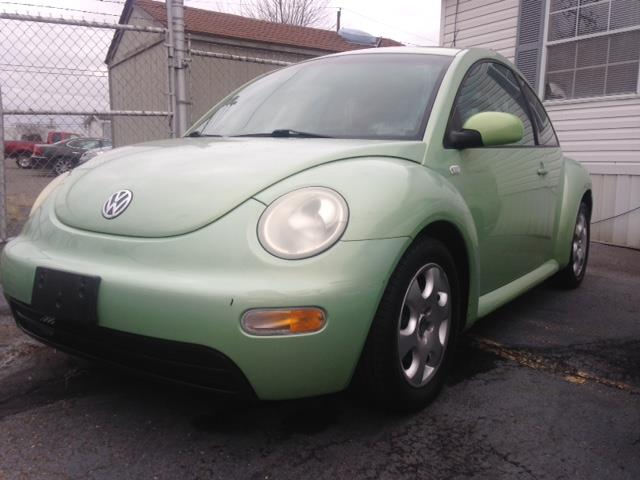 2002 VOLKSWAGEN NEW BEETLE GLS 18T 2DR TURBO HATCHBACK green great little gas saver call now fo