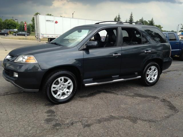 2005 ACURA MDX TOURING WNAVI WRES AWD 4DR SUV gray leather moon roof fully loaded 4x4 call