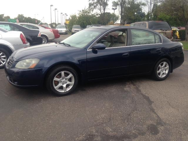 2006 NISSAN ALTIMA SE blue leather interior moon roof heated seats all power options call now