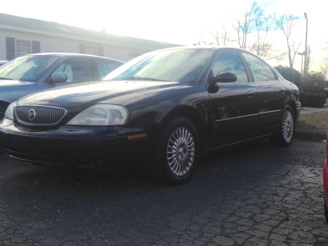 2004 MERCURY SABLE GS 4DR SEDAN black air conditioning 4 wheel standard abs power brakes power