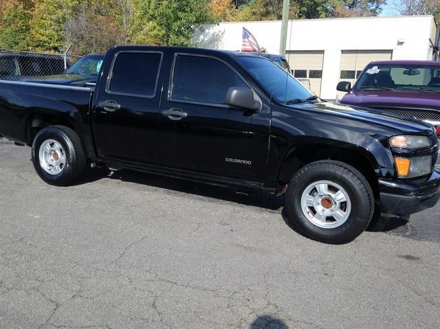 2005 CHEVROLET COLORADO LS SPORT black club cab black cloth interior clean call now for fast c