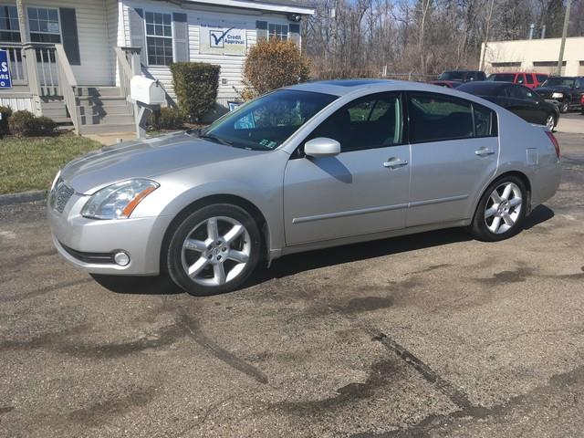 2004 NISSAN MAXIMA SE silver moon roof v6 fwd all power automatic call now for fast credit a