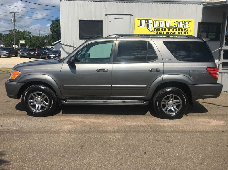 2004 Toyota Sequoia Limited 4dr Suv In Victoria Tx Rock