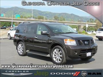 2015 Nissan Armada for sale in Glendora, CA