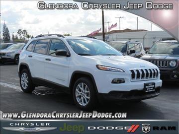 2017 Jeep Cherokee for sale in Glendora, CA