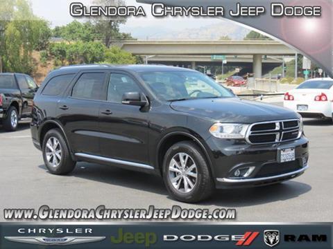 2016 Dodge Durango for sale in Glendora, CA