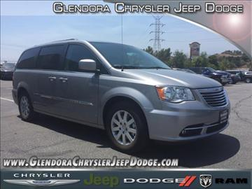 2016 Chrysler Town and Country for sale in Glendora, CA
