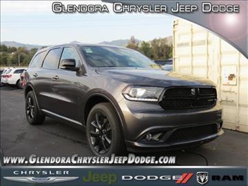 2017 Dodge Durango for sale in Glendora, CA