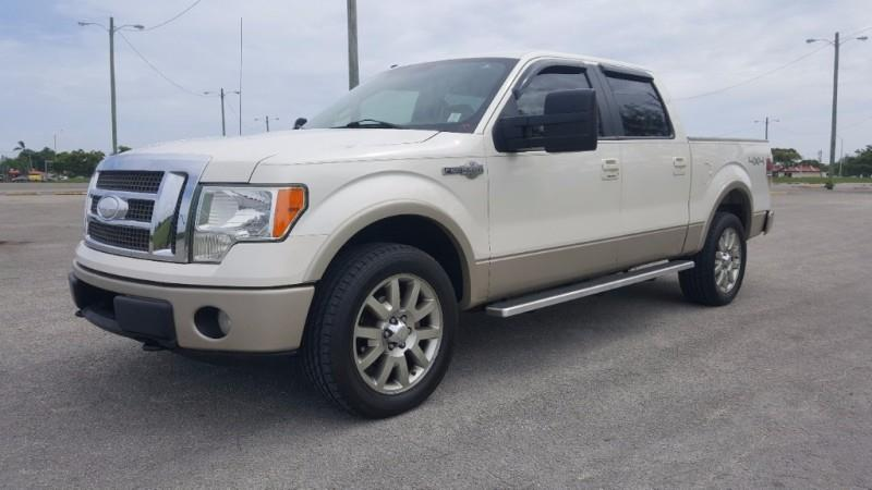 2009 Ford F 150 4wd Supercrew 145 King Ranch In Miami Fl Truck Depot