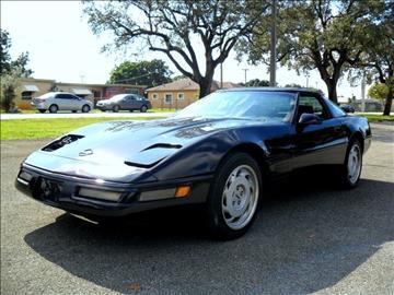 used 1993 chevrolet corvette for sale florida. Black Bedroom Furniture Sets. Home Design Ideas