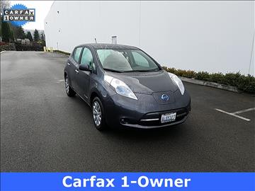 2013 Nissan LEAF for sale in Woodinville, WA