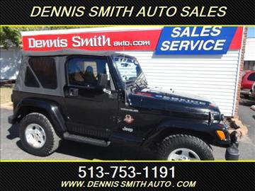 2002 Jeep Wrangler for sale in Amelia, OH
