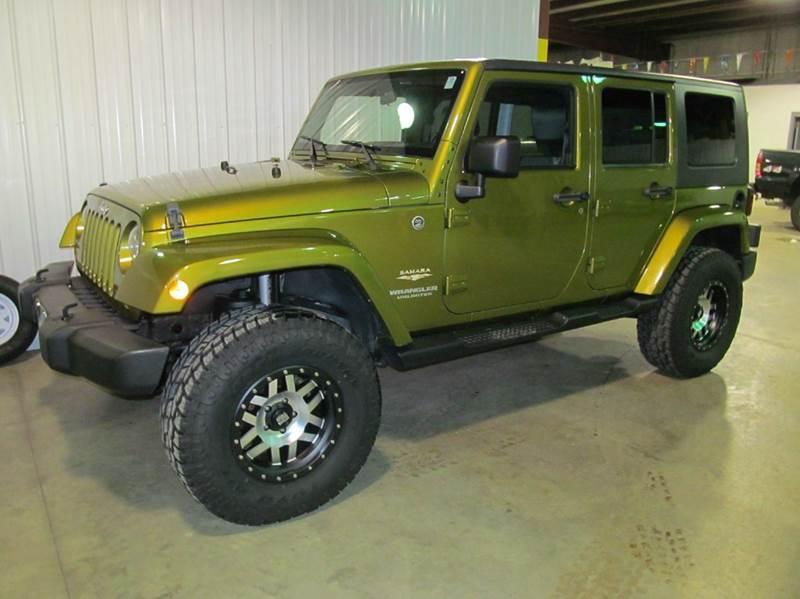 2007 jeep wrangler unlimited 4x4 sahara 4dr suv in albert lea mn flaherty 39 s hi tech motorwerks. Black Bedroom Furniture Sets. Home Design Ideas