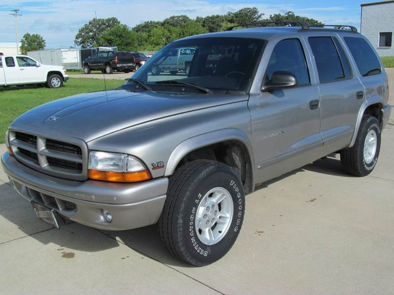 2000 dodge durango 4dr slt 4wd suv in albert lea mn. Black Bedroom Furniture Sets. Home Design Ideas