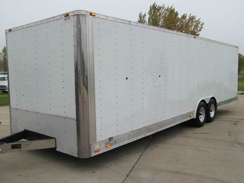 2005 Cargo Mate 8.5 X 28 RACE TRAILER