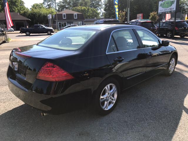 2007 Honda Accord EX 4dr Sedan (2.4L I4 5A) - Newport News VA