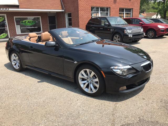 2008 BMW 6 Series 650i 2dr Convertible - Newport News VA