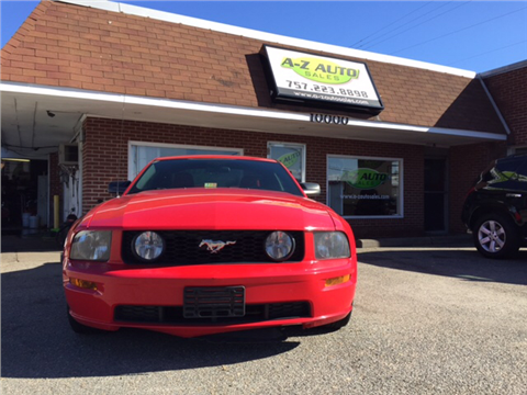 2005 Ford Mustang for sale in Newport News, VA