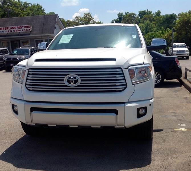 Truck Platinum: 2014 Toyota Tundra Platinum 4x4 4dr CrewMax Cab Pickup SB