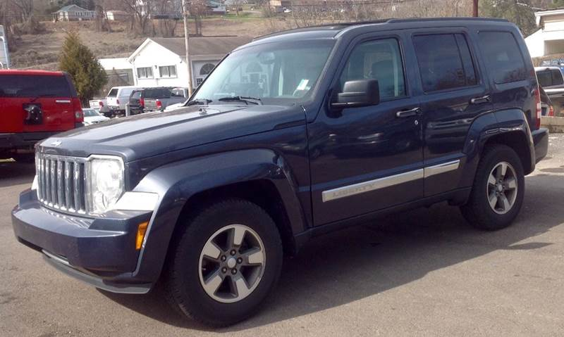 2008 jeep liberty sport 4x4 4dr suv in morristown tn morristown auto sales. Black Bedroom Furniture Sets. Home Design Ideas