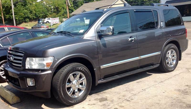 2007 infiniti qx56 base 4dr suv 4wd in morristown tn morristown auto sales. Black Bedroom Furniture Sets. Home Design Ideas