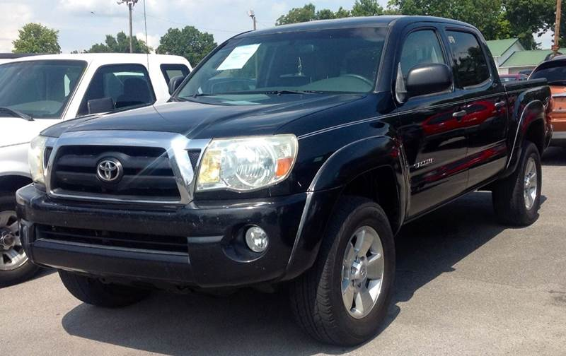 2005 toyota tacoma prerunner v6 4dr double cab rwd sb in morristown tn morristown auto sales. Black Bedroom Furniture Sets. Home Design Ideas