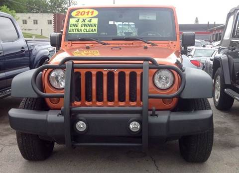 2011 Jeep Wrangler for sale in Morristown, TN