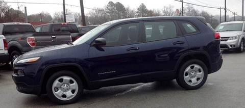 2014 Jeep Cherokee for sale in Morristown, TN