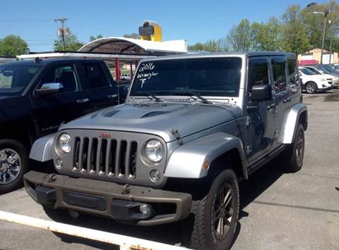 2016 Jeep Wrangler Unlimited for sale in Morristown, TN