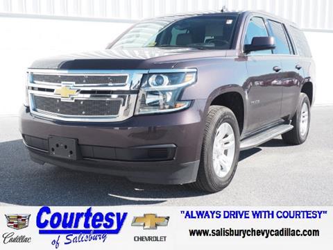 2015 Chevrolet Tahoe for sale in Salisbury MD