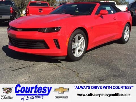2017 Chevrolet Camaro for sale in Salisbury MD
