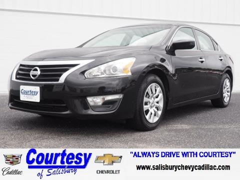 2015 Nissan Altima for sale in Salisbury, MD